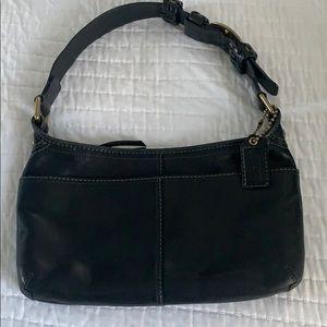 Black shoulder bag.  Coach
